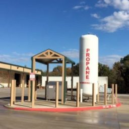 propane refills at Russell Feed & Supply