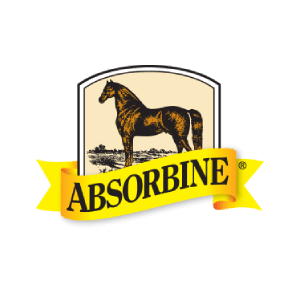 absorbine logo | Absorbine products are available at Russell Feed & Supply