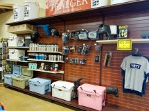 Yeti Coolers and accessories at Russell Feed and Supply in Decatur, Texas