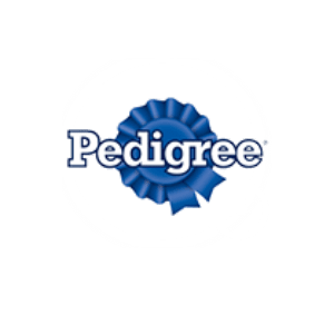 pedigree logo | pedigree pet food is available at Russell Feed & Supply