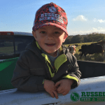 Russell Feed Hat with logo