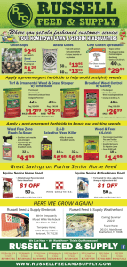Get a head start on your spring gardening projects and weed control with our February 2021 Star Telegram Ad Specials.