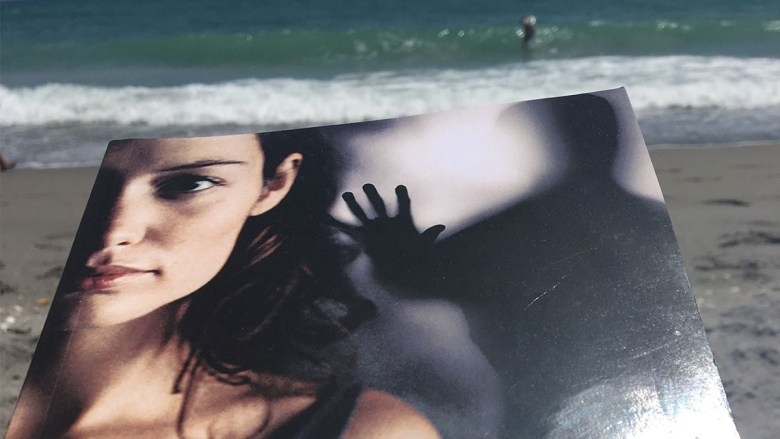 Work: Marilyn on a Spanish beach