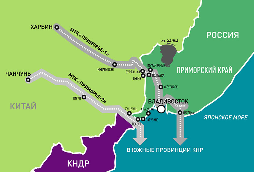 Russia China Agree On Primorye 1 Corridor Opens Up Heilongjiang To