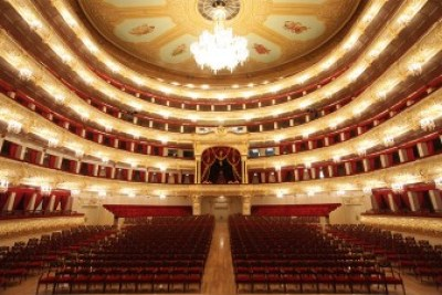 Bolshoi theatre stage