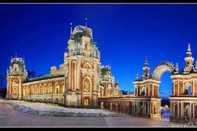 Tsaritsyno Moscow