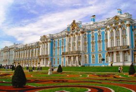 Imperial village-Catherine the Great castle