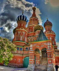Saint Basil's church Moscow