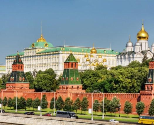 Kremlj-Moscow-Russia Kremlj + katedrale