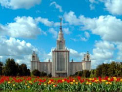 MGU Moscow main building