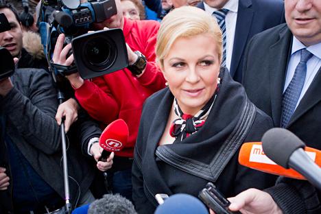 hrvatskoj predsjednici Kolindi Grabar-Kitarović