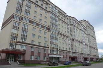 Outside Prizma hotel in Penza, Russia