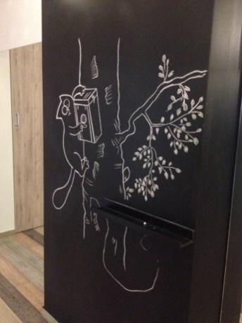 Design inside Prizma hotel in Penza, Russia