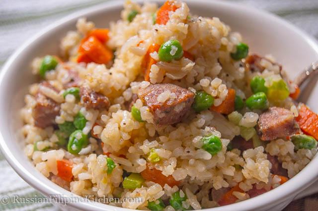 italian sausage fried rice