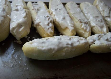 Banana Meat (Fried Banana Stuffed With Ground Pork) 13