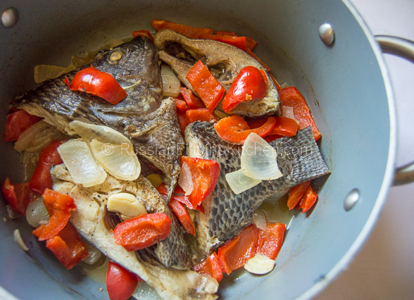 Paksiw Na Tilapia Fish Simmered In Vinegar And Spices Russian Filipino Kitchen