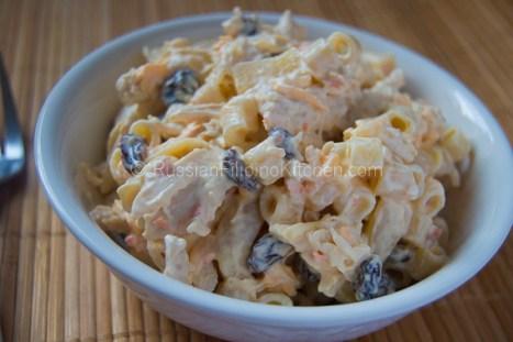 Filipino Chicken Macaroni Salad 10