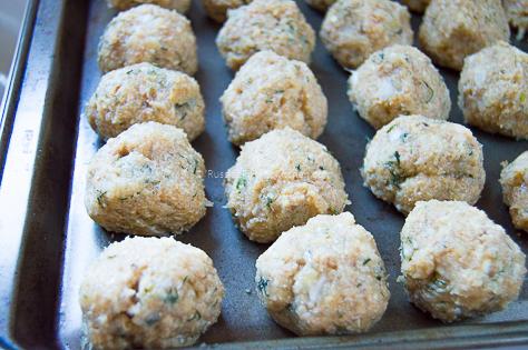 Chicken Kotleti (Russian-style Meatballs) 11
