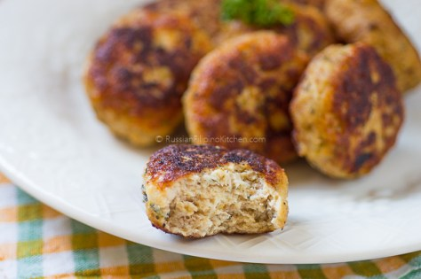 Chicken Kotleti (Russian-style Meatballs) 16