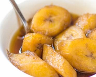 how to make filipino fried bananas
