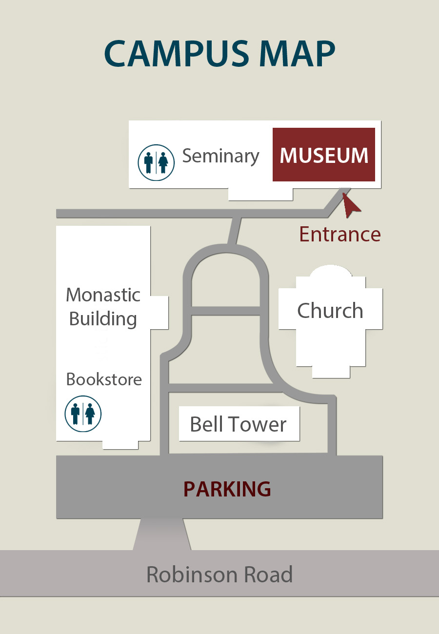 Russian History Museum Campus Map