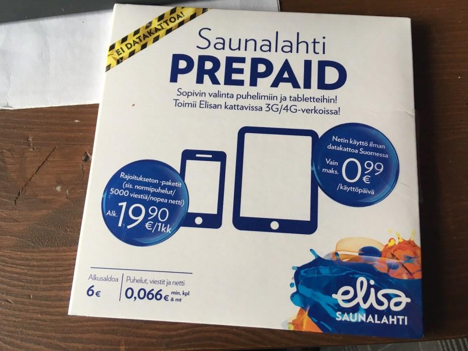 prepaid mobile set