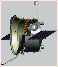 Propulsion Module of the PTK spacecraft