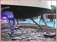 Landing gear of PTK NP spacecraft