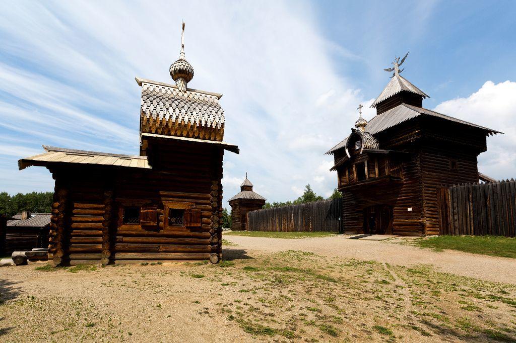Ilim Odtrog im Taltsy Freilichtmuseum bei Irkutsk