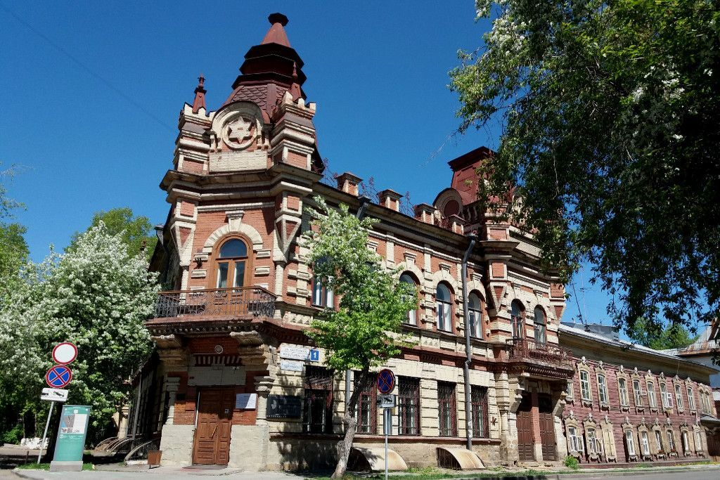 Joshua Feinberg Herrenhaus an der grünen Linie in Irkutsk