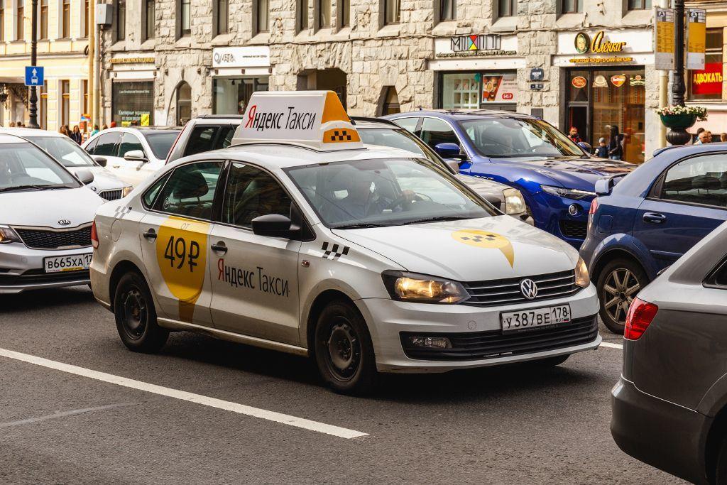 Taxi in Sankt Petersburg