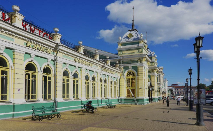 Hauptbahnhof in Irkutsk