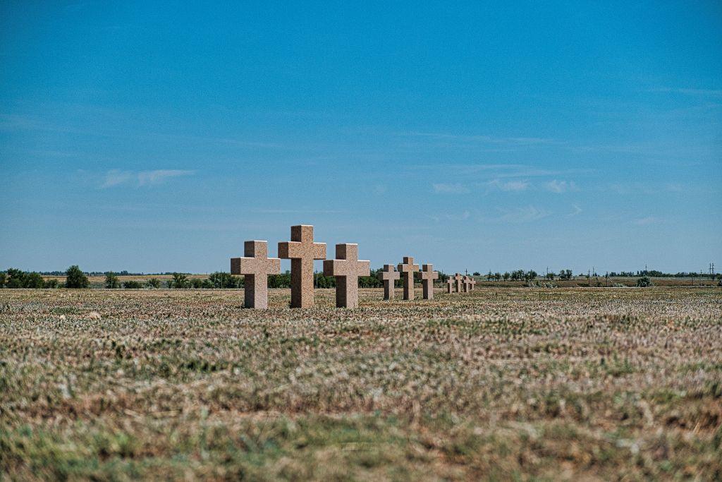 Friedhof für deutsche gefallene Soldaten in Wolgograd