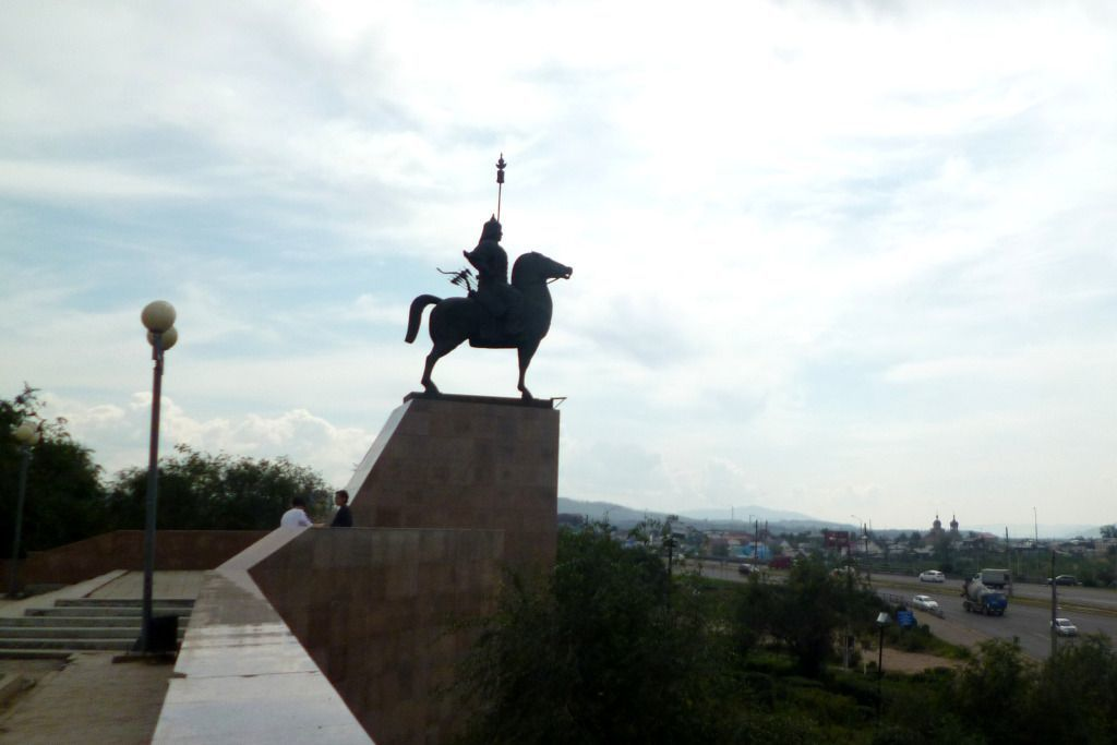 Gesar Denkmal in Ulan-Ude