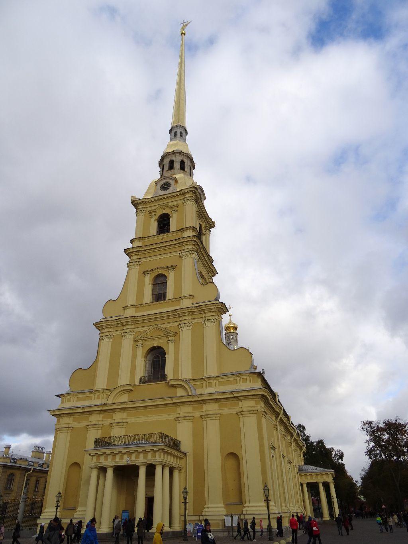 Peter-und-Paul-Kathedrale auf der Haseninsel in Sankt Petersburg