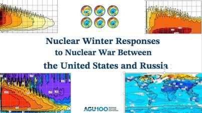 US-Wissenschaftler simulierten Klimafolgen eines Atomkrieges zwischen den USA und Russland