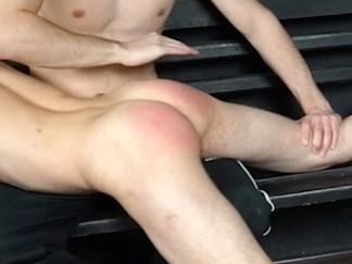 Boys Hand spanking