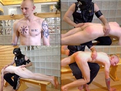 Hand spanking boy Dimon 22
