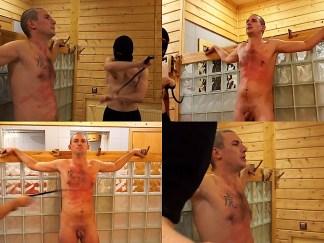 Man torso whipping Vanya