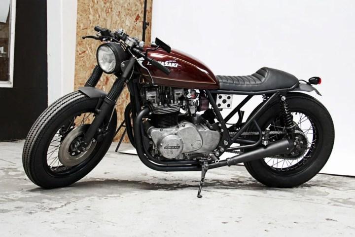 Kawasaki Z750 Cafe Racer Usata Newmotorjdico