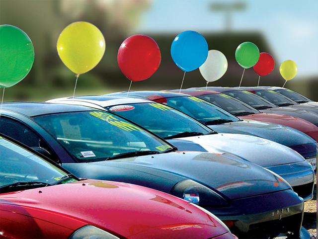 Car Dealership Photo