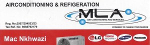 Air conditioners & Refrigeration