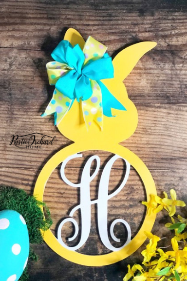 DIY Bunny Door Hanger Tutorial