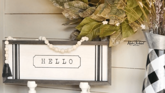 Simple DIY Home Decor from Chalk Couture!