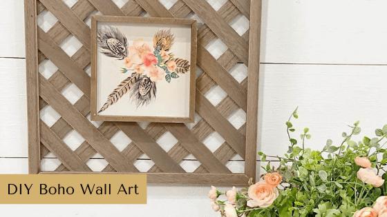 DIY Boho Wall Art