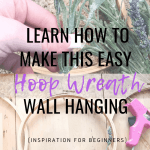 Diy Embroidery Hoop Wreath Hanging 94 Rustic Passion By Allie Blog
