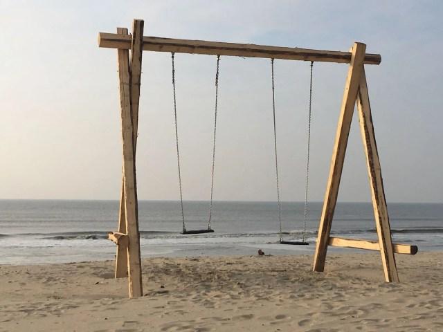 Schommel op het strand - Rust in mijn hoofd coaching
