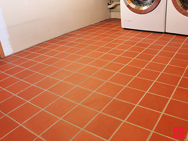 paint tile floors without painting grout