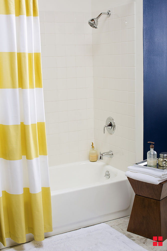 Update Your Bathroom Tub Amp Tile On A Budget
