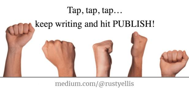 Publish - medium rustyellis